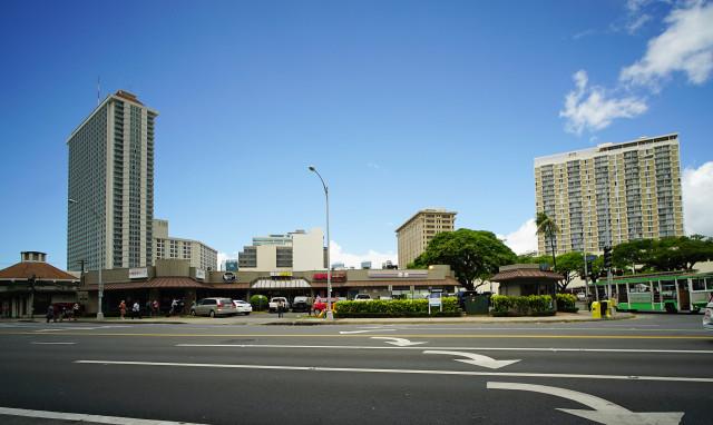 Kapiolani Boulevard Atkinson intersection for Anita. 6 sept 2016