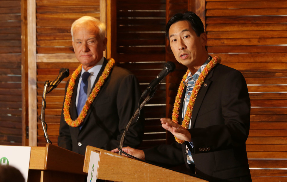 Djou Says Caldwell Lied About Bank Compensation