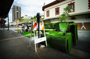 Honolulu Parking Stalls Become Tiny Public Parks For A Day