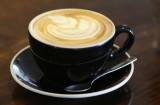 Curb Latte coffee closeup. 3 oct 2016
