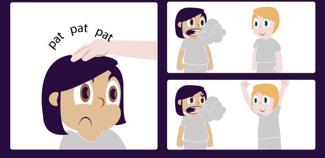 Pidgin cartoon