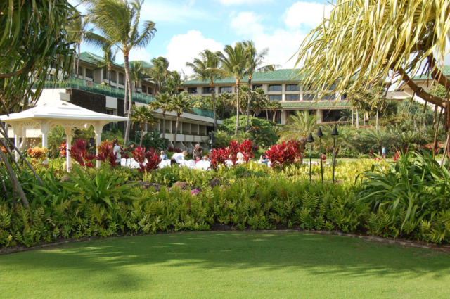 The Grand Hyatt Kauai Resort & Spa in Poipu, the location for the planning conference, is a five-star facility.