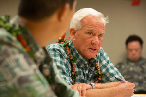 Caldwell Up 7 Points Over Djou In Honolulu Mayor's Race