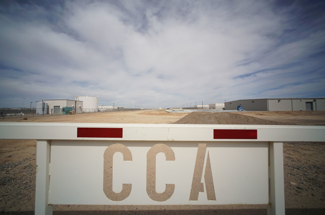 CCA Arizona sign. 5 march 2016