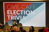 Civil Cafe Election Trivia held at the University of Hawaii at Manoa campus. 3 nov 2016