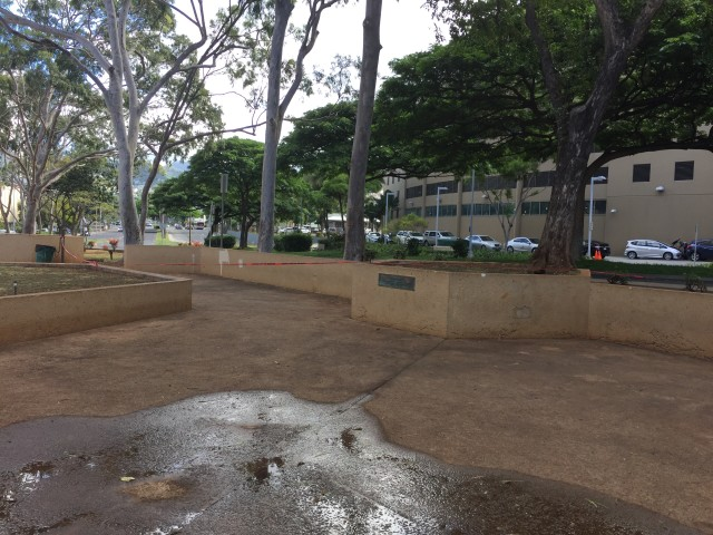 The Department of Parks and Recreation closed Kamalii Mini Park on Nov. 3 for maintenance. The park will reopen in December.