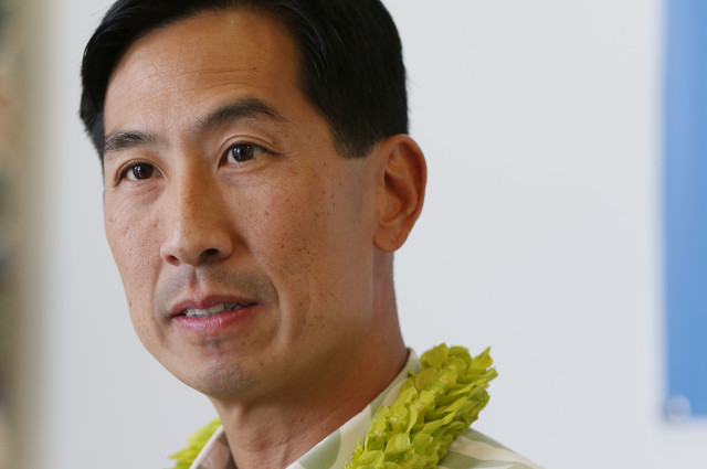 Mayoral Candidate Charles Djou presser held at his campaign headquarters in Kalihi. 1 nov 2016