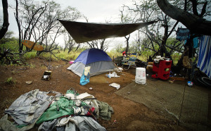 Denby Fawcett: Homeless Keep Coming Back To Diamond Head