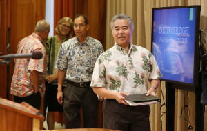 Ige's Wish List: More Money For Schools, Housing, Homelessness