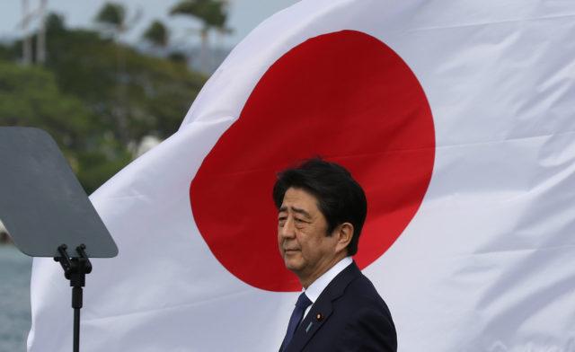 Japan Prime Minister Shinzo Abe Pearl Harbor. 27 dec 2016