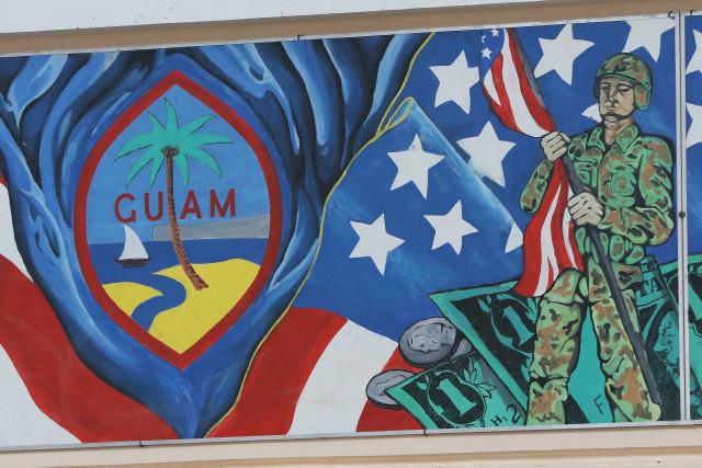 Marianas Guam mural University . 22 aug 2016