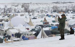 Aloha, Standing Rock: Islanders Brave Cold, Snow In Solidarity