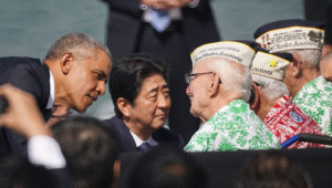 Abe At Pearl Harbor: 'Sincere And Everlasting Condolences'