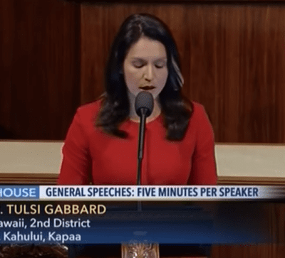 Gabbard: Stop Pipeline Now