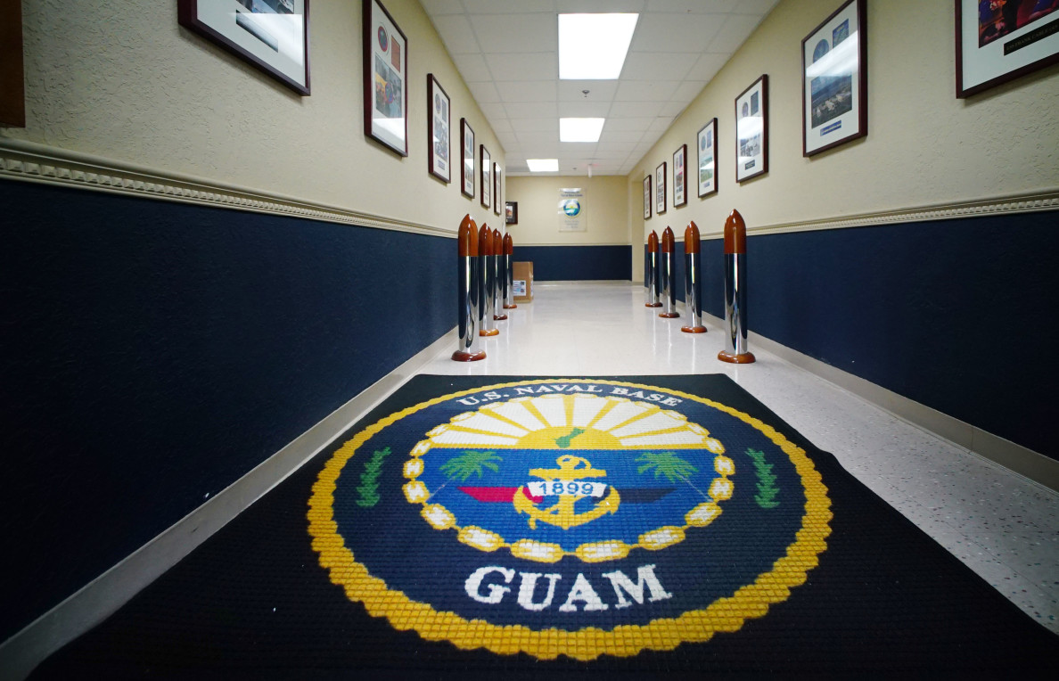 US Navy Base Guam Marianas. 22 aug 2016