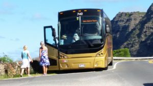 Denby Fawcett: Waimanalo Seeks Relief From Tour Bus Invasions