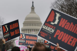 Massive March On DC: Fear, Fun, Animosity And A Touch Of Aloha