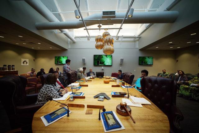 OHA Office of Hawaiian Affairs Trustees. 4 jan 2017