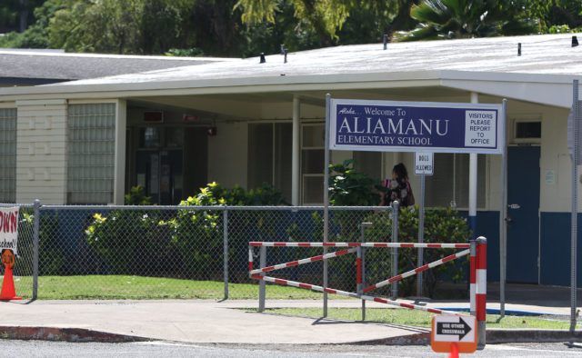 Aliamanu Elementary School. 17 feb 2017