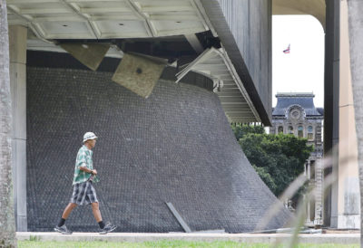 Ceiling Tiles Fall At Hawaii Capitol