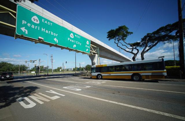 HART Rail Salt Lake Boulevard Aloha Stadium. The Bus. 23 feb 2017