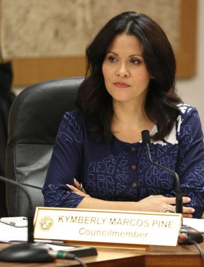 Honolulu City Council member Kymberly Pine. 8 feb 2017