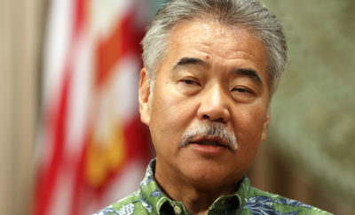 Governor David Ige presser Governor trip DC. 9 march 2017