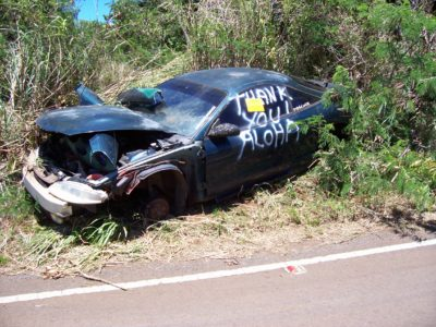 Tad Bartimus: The Hana Highway Has Become A Vehicle Dumping Ground