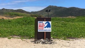 Working To Save The Ka Iwi Coastline