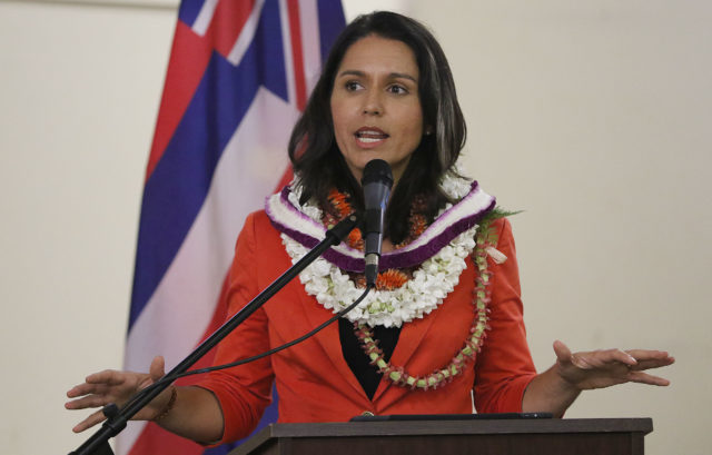 Congresswoman Tulsi Gabbard Lanai3. 13 april 2017
