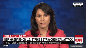 Gabbard Skeptical That Syria Was Behind Chemical Attack