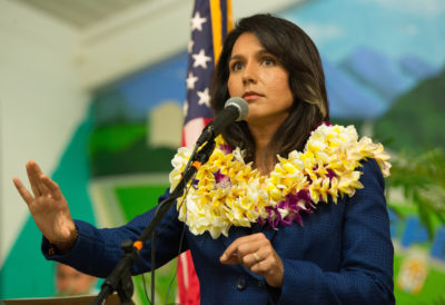 Run, Tulsi, Run? Gabbard's Name Pops Up As Presidential Contender