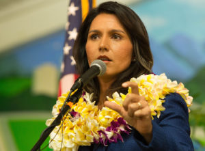 Gabbard Denounces Democratic Party's National Leaders