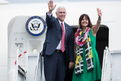 Vice President Pence Cuts Short His Visit To Hawaii