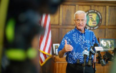 Mayor Kirk Caldwell presser post legislature adjournment1. 4 may 2017