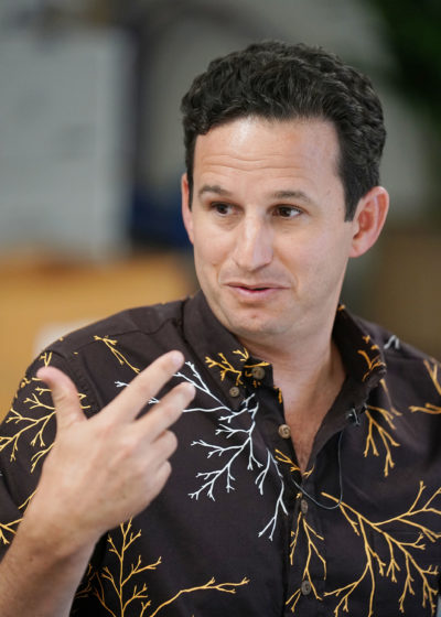 Senator Brian Schatz at Honolulu Civil Beat. 31 may 2017