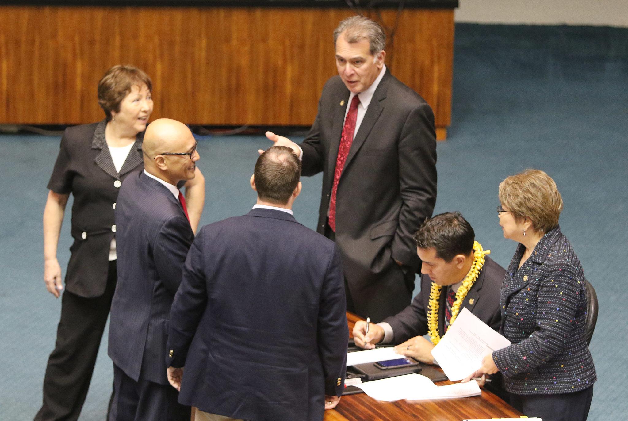 Senators before Lunch break. 2 may 2017