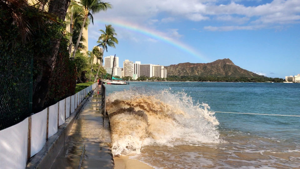King Tides Are Providing A Glimpse Of Hawaii's Future