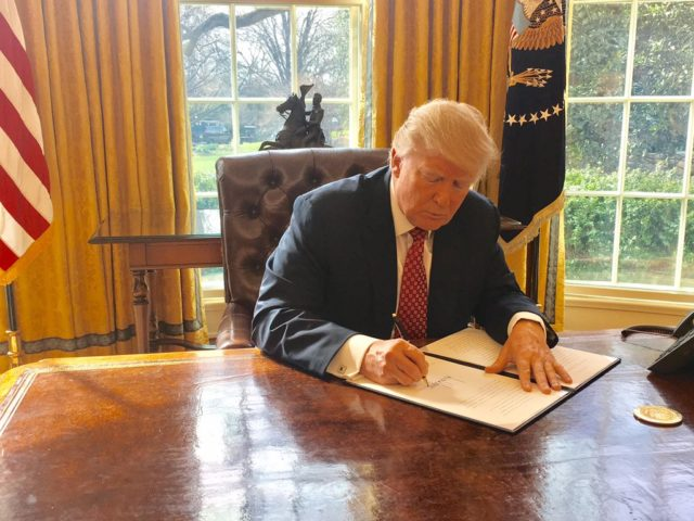 Donald Trump signs second travel ban