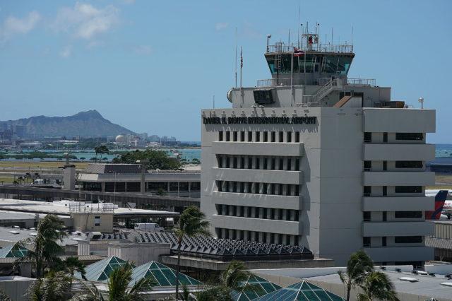 Daniel K Inouye International Airport. Honolulu. 5 June 2017