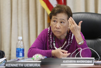 Hawaii School Board Signs Off On Bid For Federal Dollars