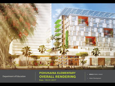 Vertical Elementary School To Be Constructed In Kakaako In 2019