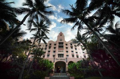Royal Hawaiian Hotel. Waikiki