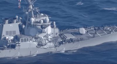 Bodies Of Missing Sailors Found Aboard Damaged Destroyer