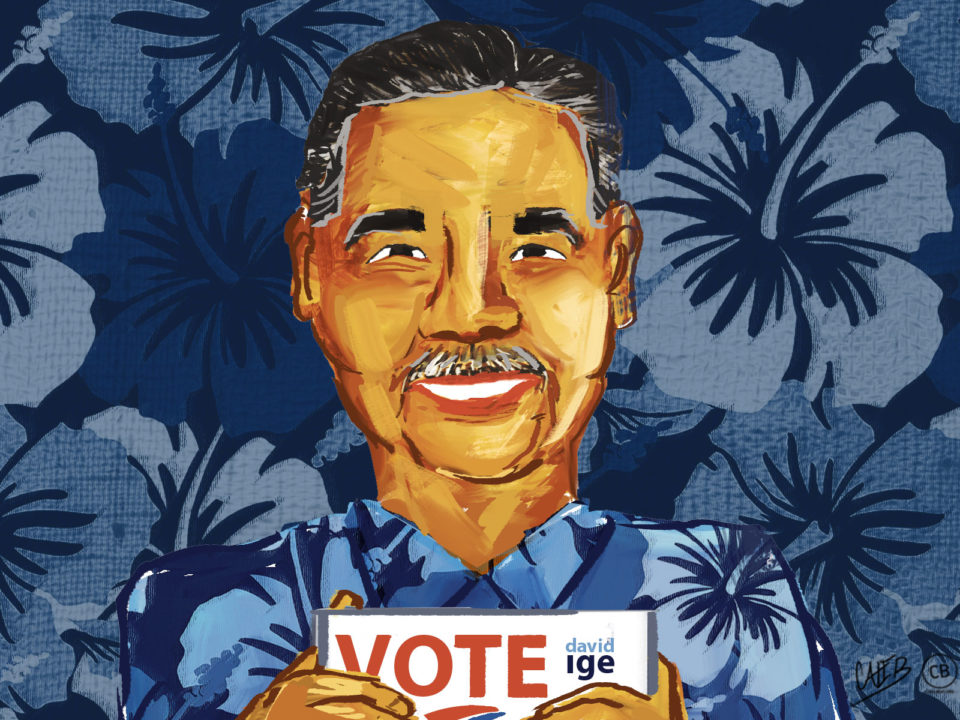 Chad Blair: Can Ige Turn Modesty Into A Campaign Asset?