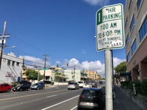 Council Considers Residential Parking Zones For Honolulu Neighborhoods
