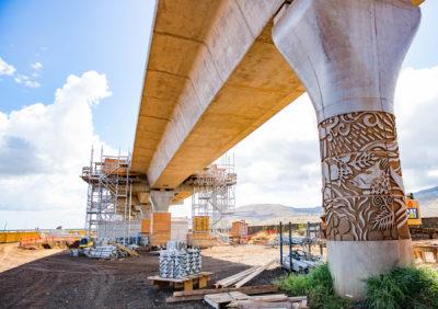Honolulu Rail Art Celebrates Hawaiian Culture