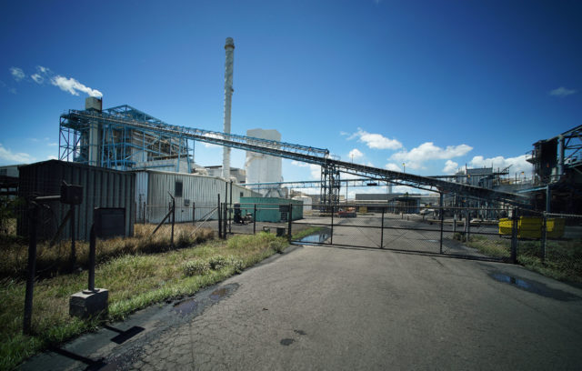 Hawaiian Electric Coal burning plant HEI HECO Campbell Industrial Park.