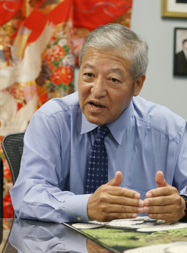 Prosecutor Keith Kaneshiro office interview.