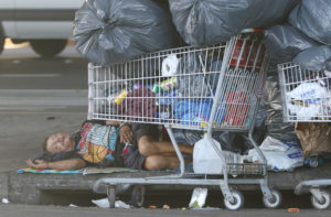 State Steps Up Its Homeless Sweeps Along Highways